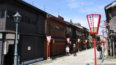 ひがし、にし、主計町に「金沢おどり」のポスター